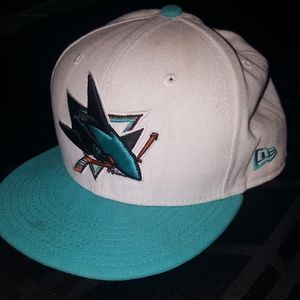 San Jose Sharks --- New Era Fitted Hat
